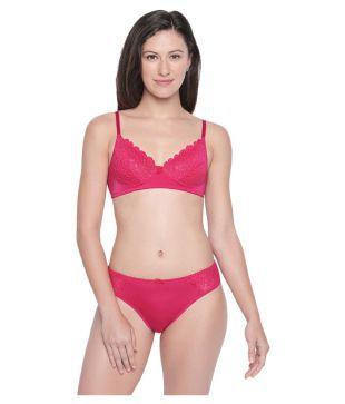 43f493ae47 Yana Lingerie Set Urbaano Womens Cotton Dew Bra   Panty Set (B