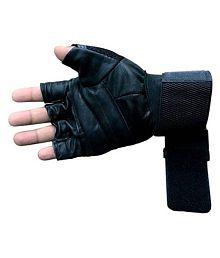 Kohinor Gems Black Gym Gloves