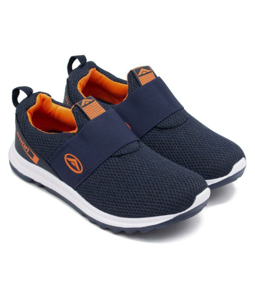 ASIAN Navy Running Shoes