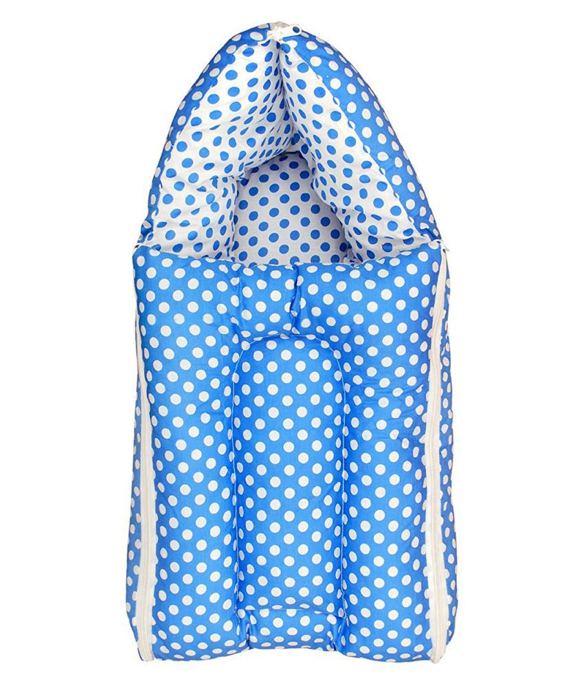 Orange and Orchid Blue Cotton Sleeping Bags ( 60 cm × 36 cm)