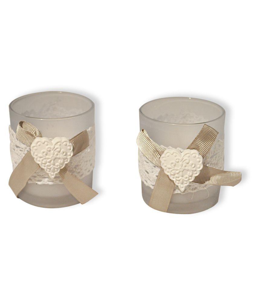 EZ Life Grey Jar Candle - Pack of 2