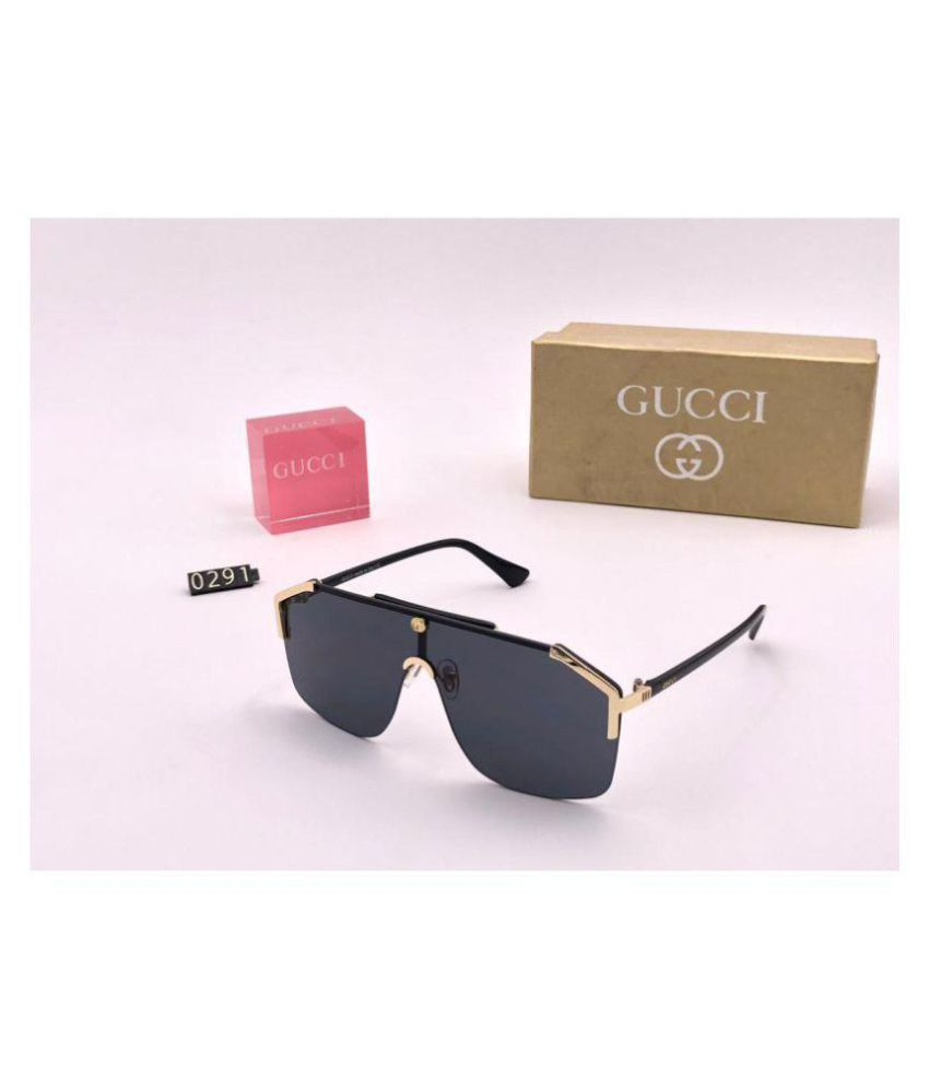 befbe4dd9bc Gucci Black Aviator Sunglasses ( GG0291S-002 ) - Buy Gucci Black Aviator  Sunglasses ( GG0291S-002 ) Online at Low Price - Snapdeal