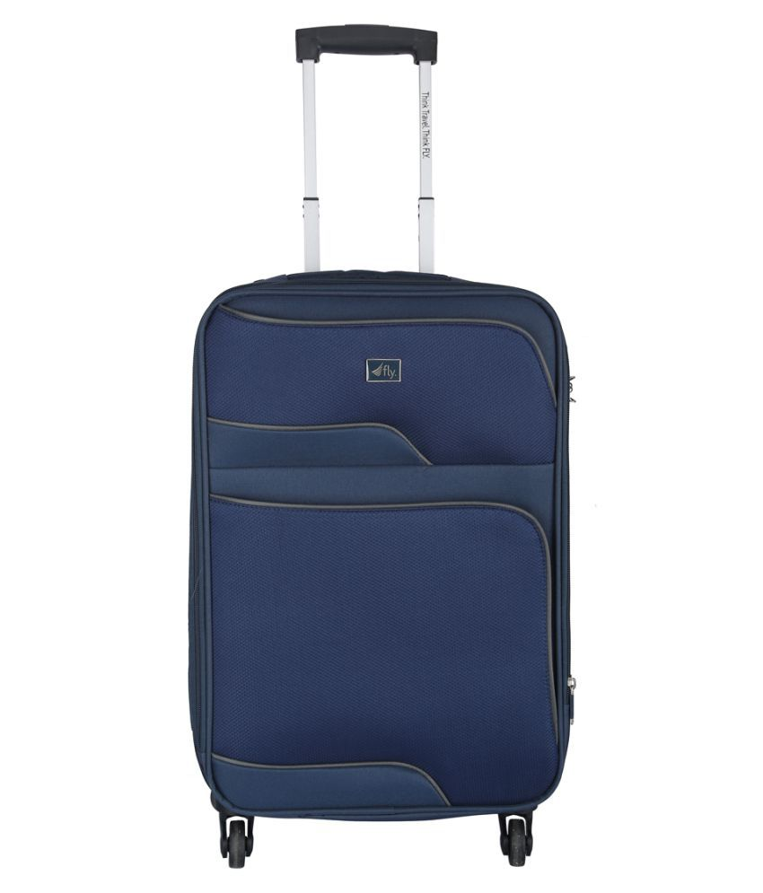 bb12c3e321cc Fly Navy Blue S (Below 60cm) Cabin Soft EQUINOX55 Luggage - Buy Fly Navy  Blue S (Below 60cm) Cabin Soft EQUINOX55 Luggage Online at Low Price -  Snapdeal