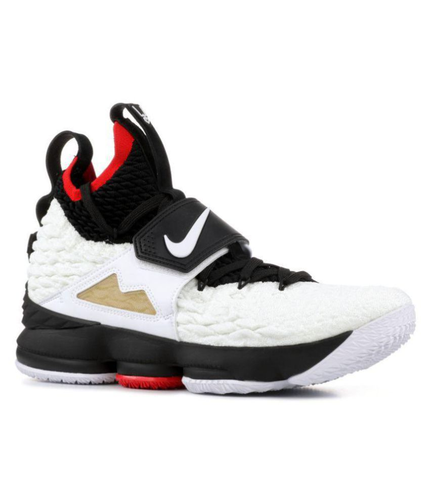 6f1c0bee714 Nike LEBRON XV PRIME DIAMOND White Basketball Shoes - Buy Nike LEBRON XV  PRIME DIAMOND White Basketball Shoes Online at Best Prices in India on  Snapdeal
