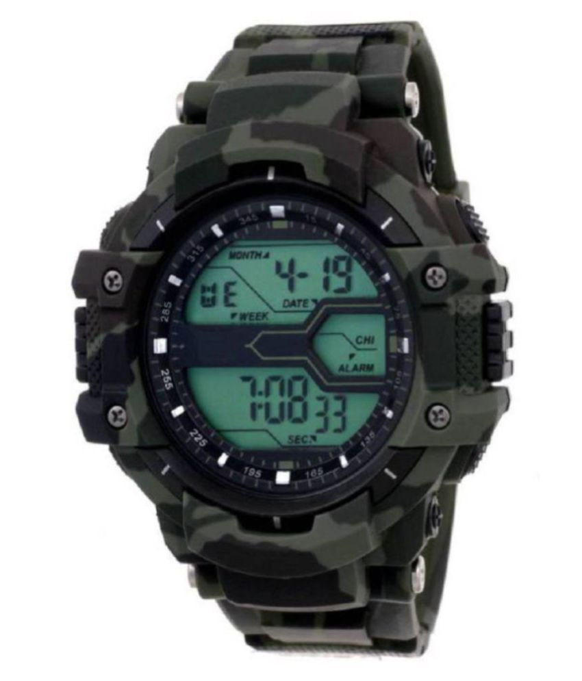 Virani 2233 Rubber Digital Men's Watch