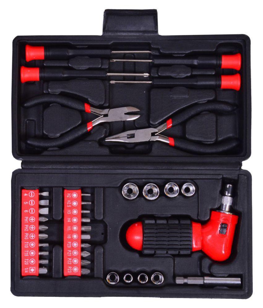 Visko Tool Kit Household Hand Tool Set (37 Pieces)