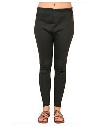 d057303670b40 Zara Plus Women s Cotton Lycra Woolen Winter legging (ZP L Woolen Black