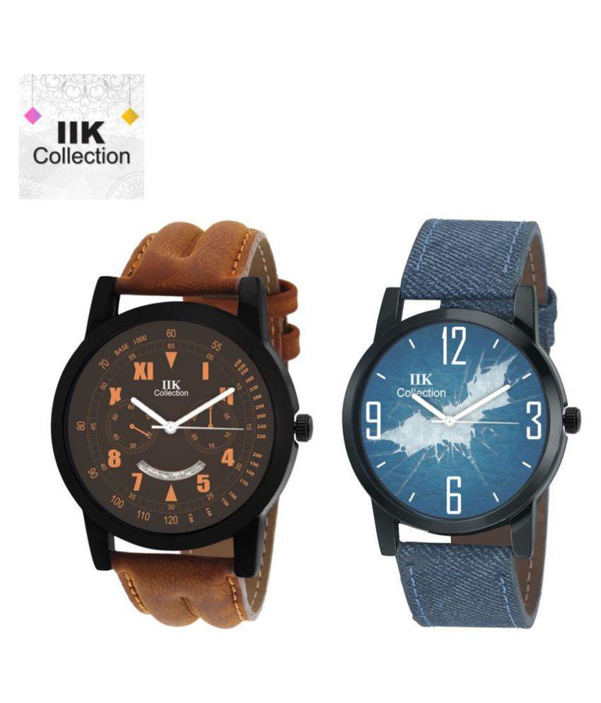 IIK Collection Combo Analog Wrist Watch For Men  amp; Boys  IIK 905M 951M