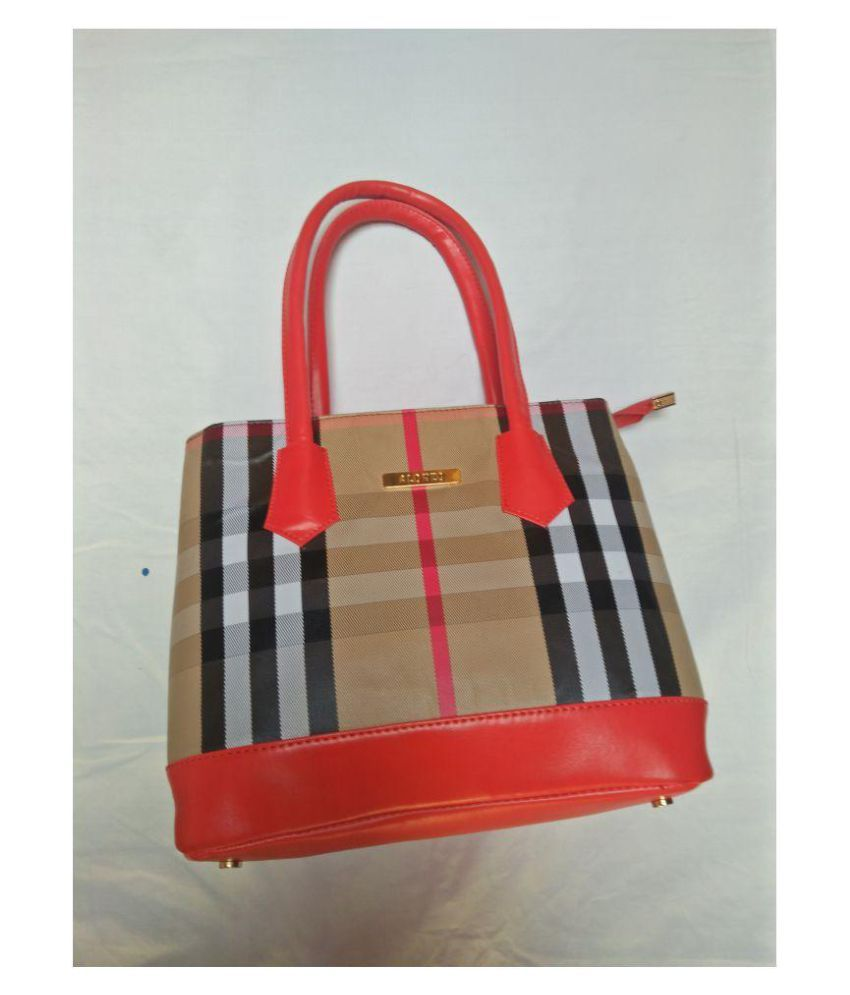 Advik Imperial Red Pure Leather Shoulder Bag