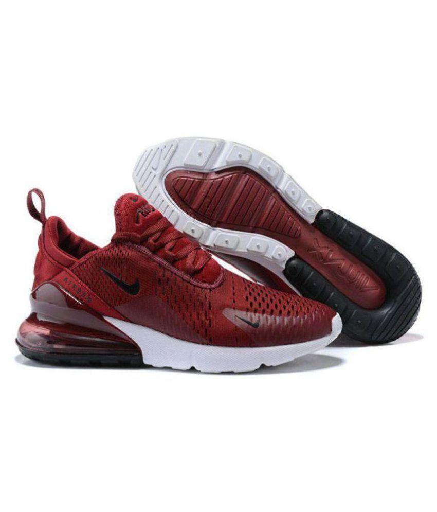 Nike AIR Max 270 Maroon Running Shoes