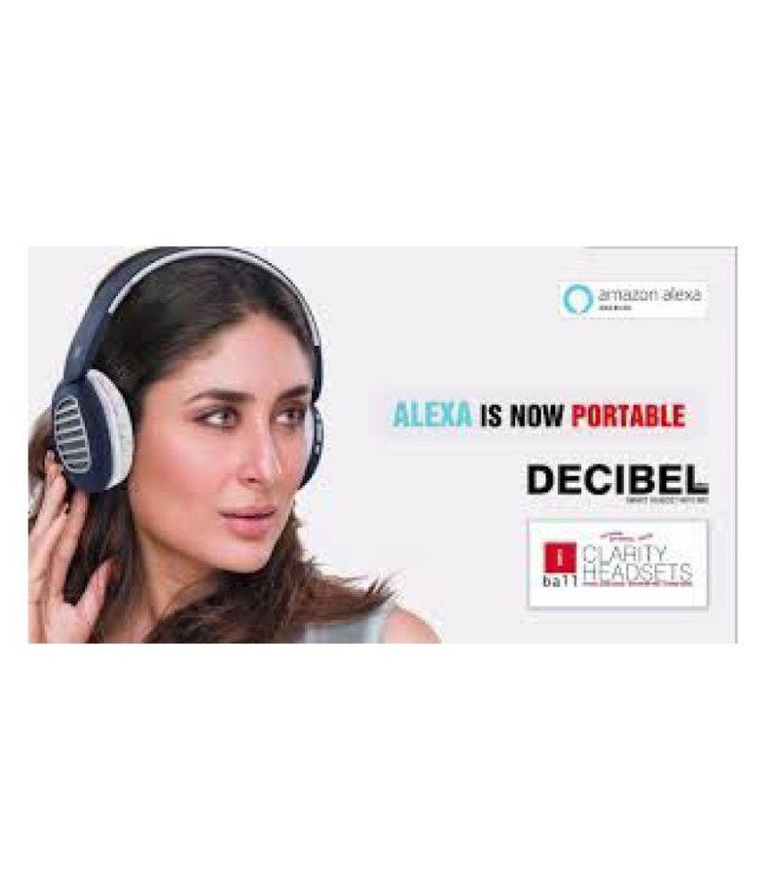 iBall Decibel BT01 Headset with mic Neckband Wireless With Mic Headphones/Earphones