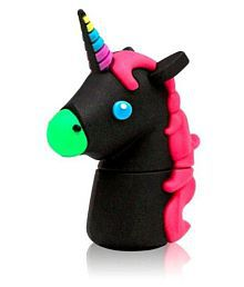 Tobo Cartoon Cute Unicorn USB Animal Shape 16GB USB 2.0 Fancy Pendrive Pack of 1