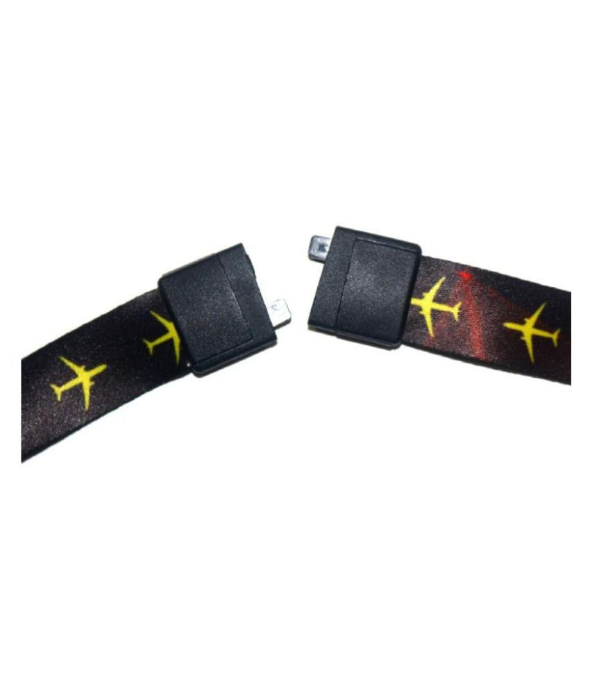 Airbus A320 multi color id card lanyard with safe break clip