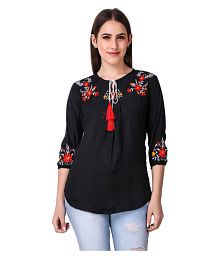 Long Tops for Women  Buy Long Tops for Women Online at Low Prices on ... e720b59c932fb