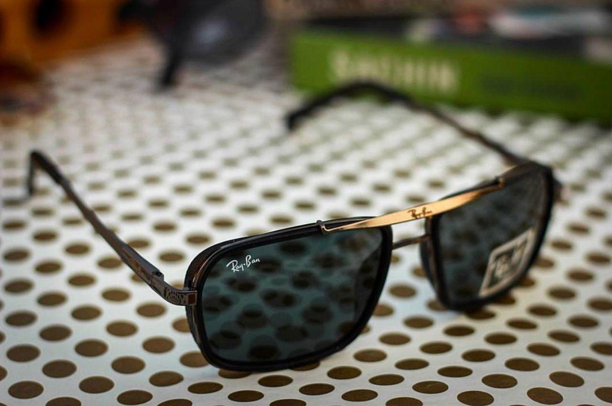a593fd3b94 Ray Ban Avaitor Black Square Sunglasses ( 4413 ) - Buy Ray Ban ...