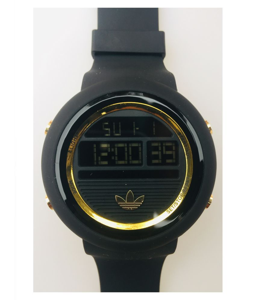 Adidas 8037 Rubber Digital Men's Watch