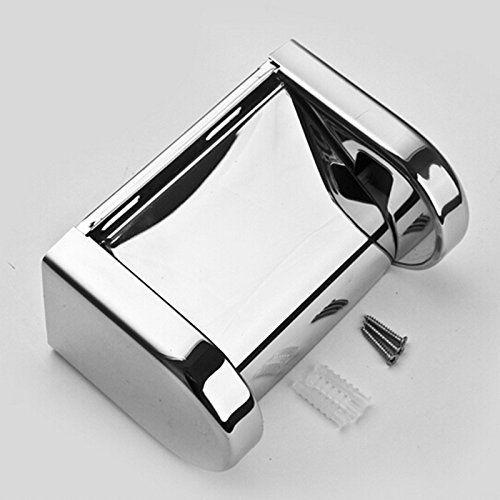 MLD  For Bathroom Easy Refill Stainless Steel Toilet Paper Holder