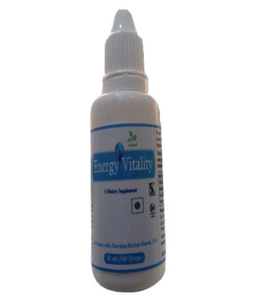 hawaiian herbal energy vitality drops-(Buy1Get Same Drops Free) 30 ml Minerals Syrup