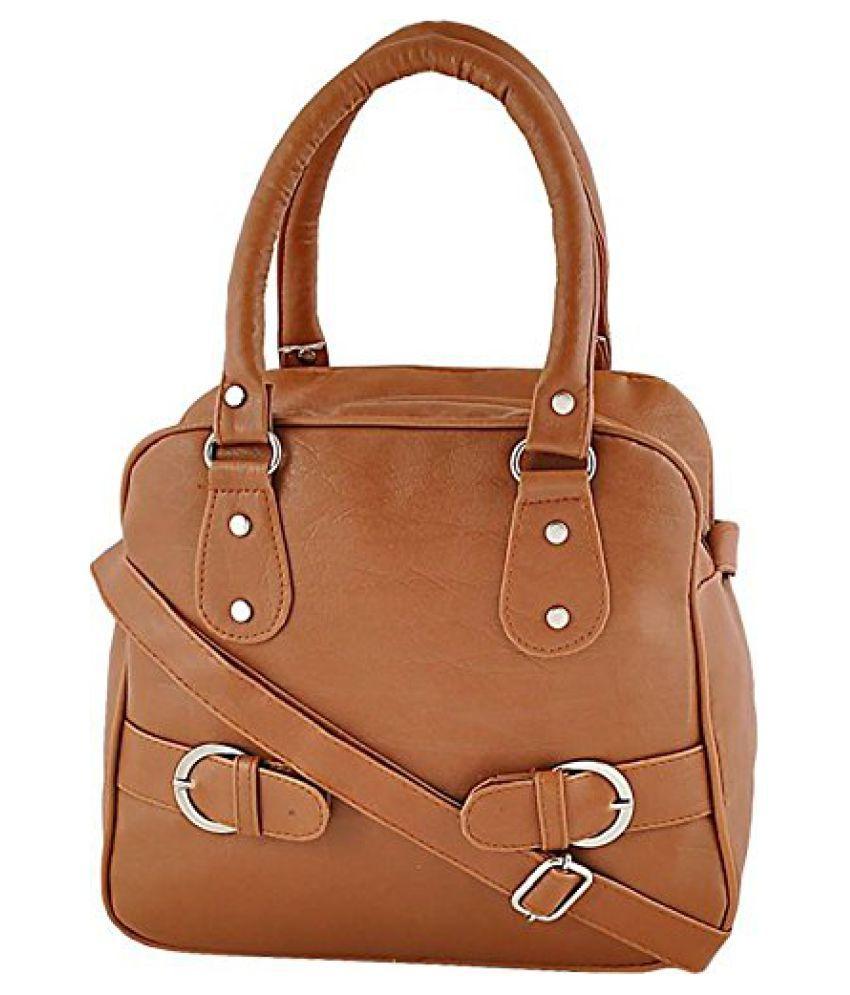 JAMUNA BAG HOUSE Brown P.U. Sling Bag