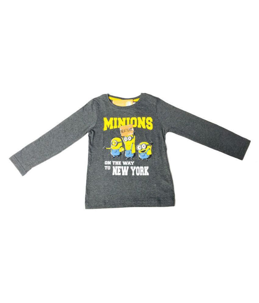 3f9292d19 QAMASH KID'S LATEST MINION PRINT COTTON T-SHIRT - Buy QAMASH KID'S LATEST MINION  PRINT COTTON T-SHIRT Online at Low Price - Snapdeal