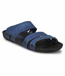 Fentacia Blue Slide Flip flop