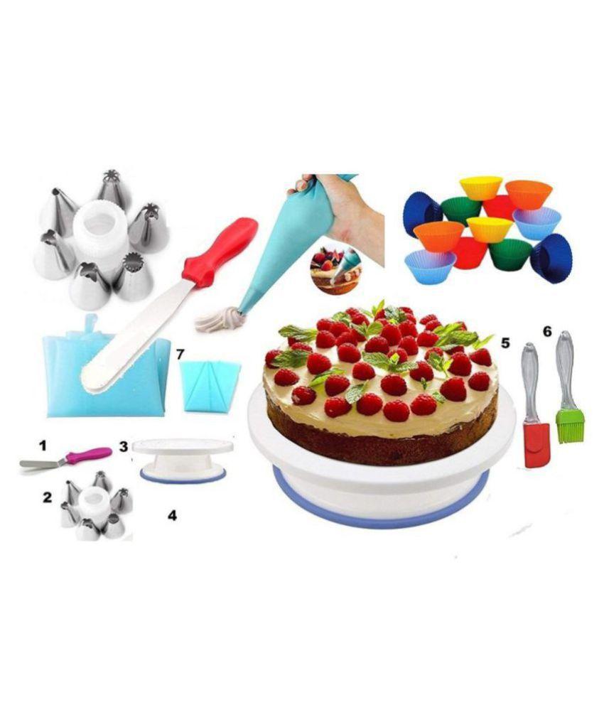 MASTER ROYAL BACKNCOOK TOOLS Silicon Baking tool 18 Pcs