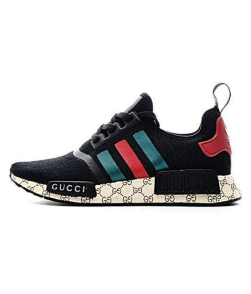 472ef10f541 Adidas Nmd Gucci Black Runing Shoes Black - Buy Adidas Nmd Gucci ...