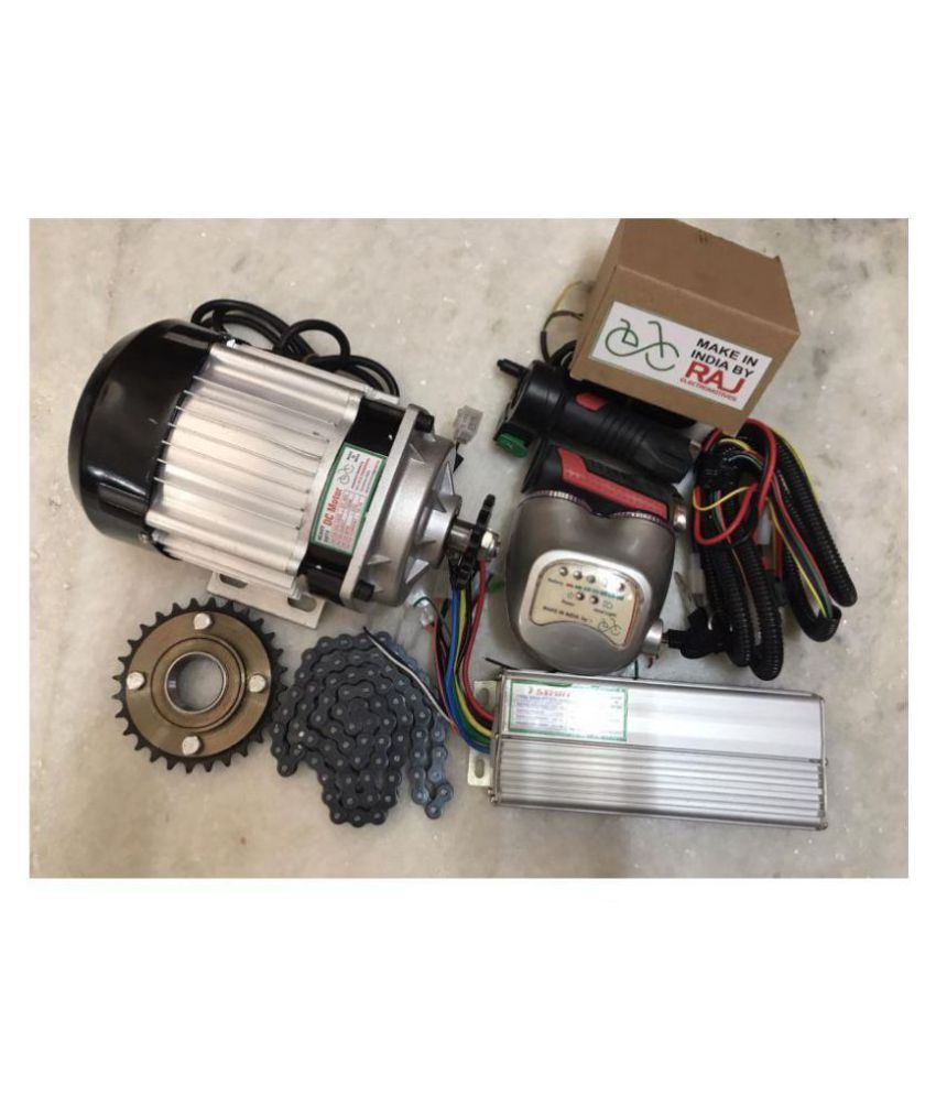 RAJ ELECTROMOTIVES™ |48 VOLT 750 WATT BLDC MOTOR | 1 YEAR GUARANTEE |  ELECTRIC BIKE CONVERSION KIT INDIA