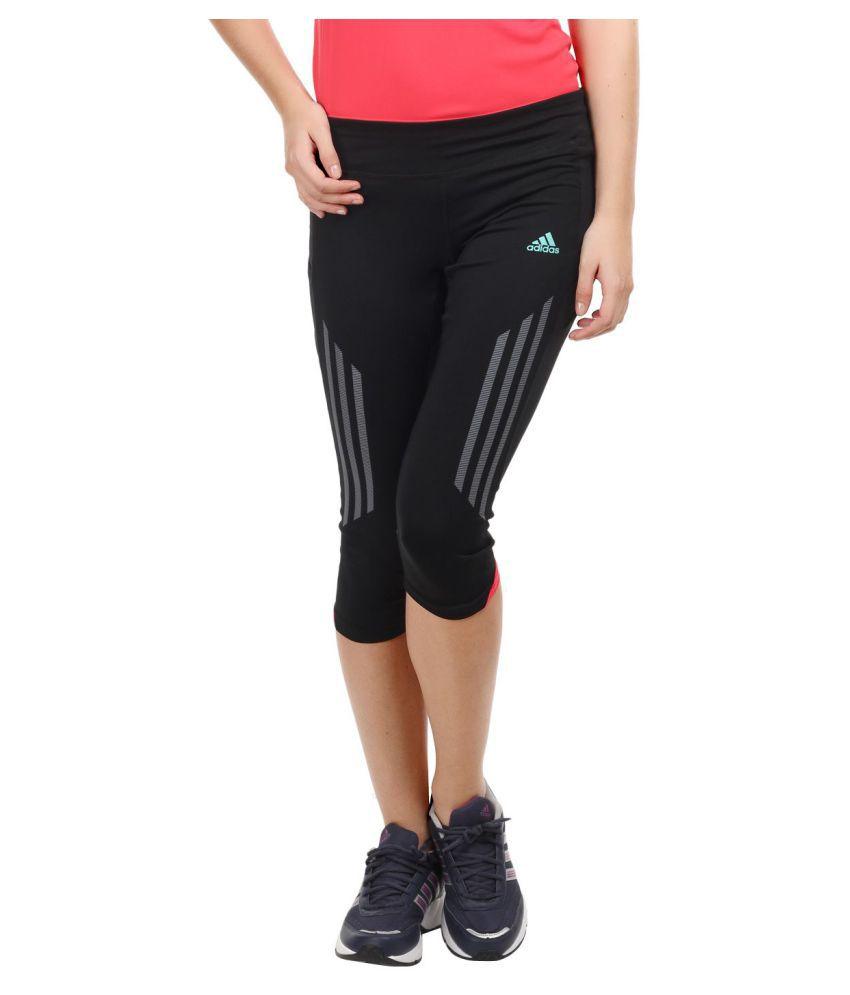Adidas Polyester Tights - Black