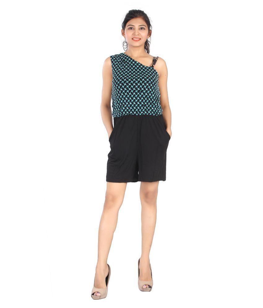 FCK-3 Multi Color Polyester Jumpsuit