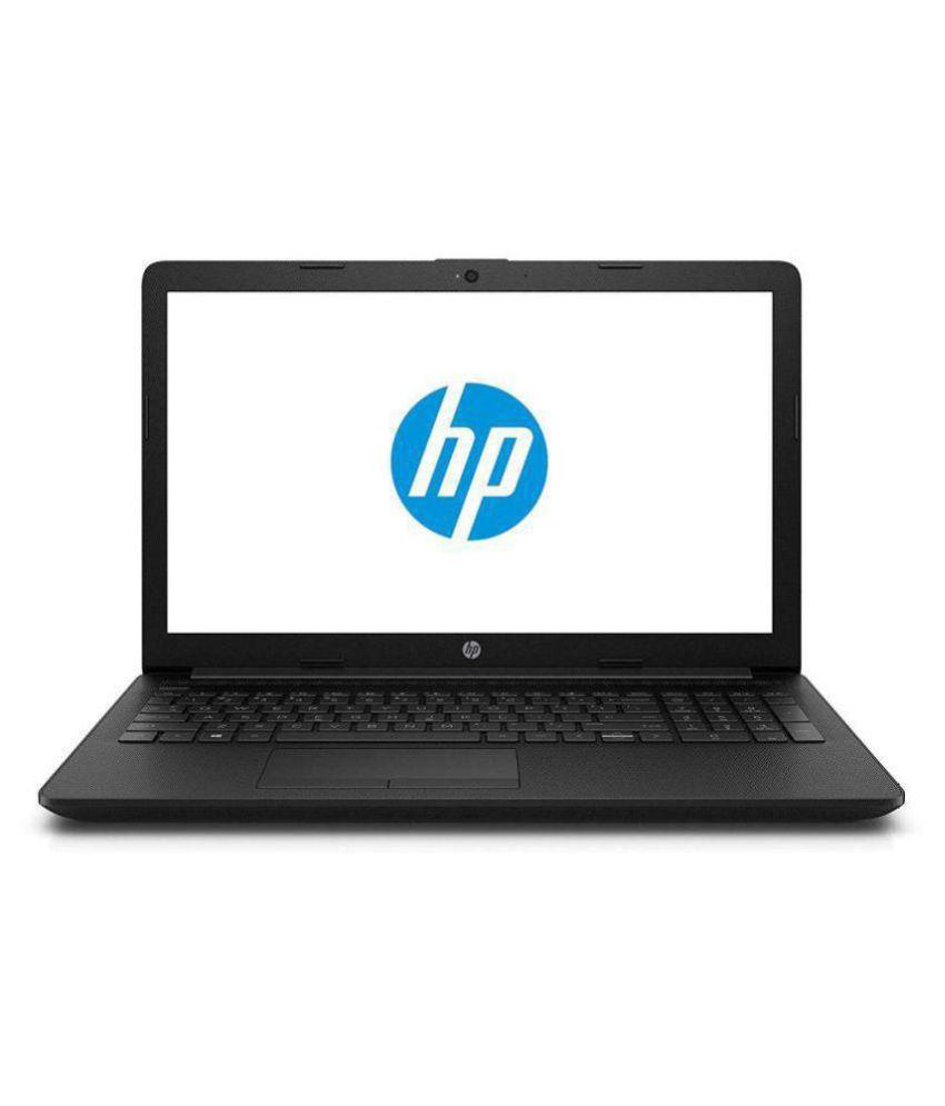 HP 15q-ds0015TU 2018 15.6-inch Laptop (7th Gen i3-7020U/4GB/1TB/DOS/Integrated Graphics), Jet Black