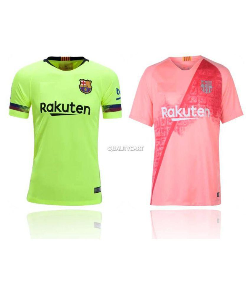 the best attitude 33dcc 5dac7 Barcelona Combo Away & Third Jersey (Pack of 2) Only Jerseys