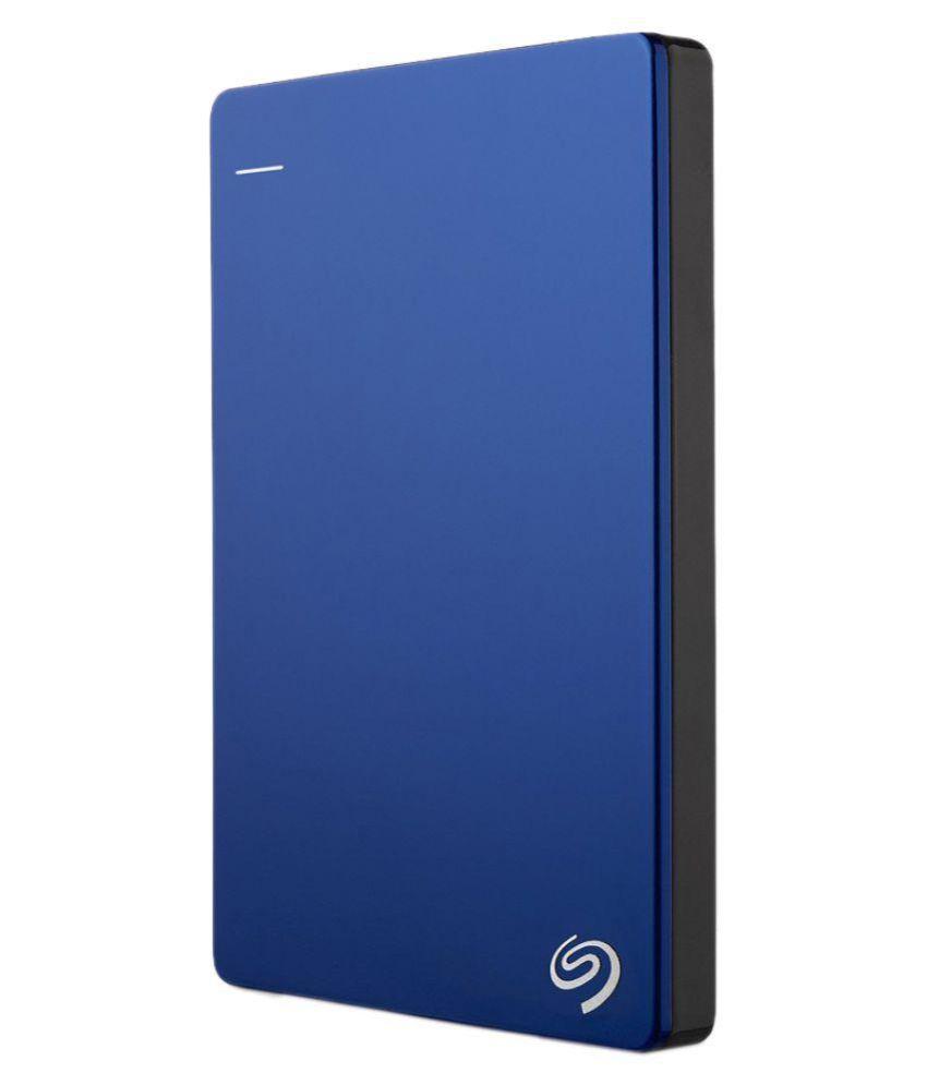 Seagate 2 TB Backup Plus Slim STDR2000302 Portable Hard Drive, Blue STDR2000302 2 TB SSD Internal Hard drive