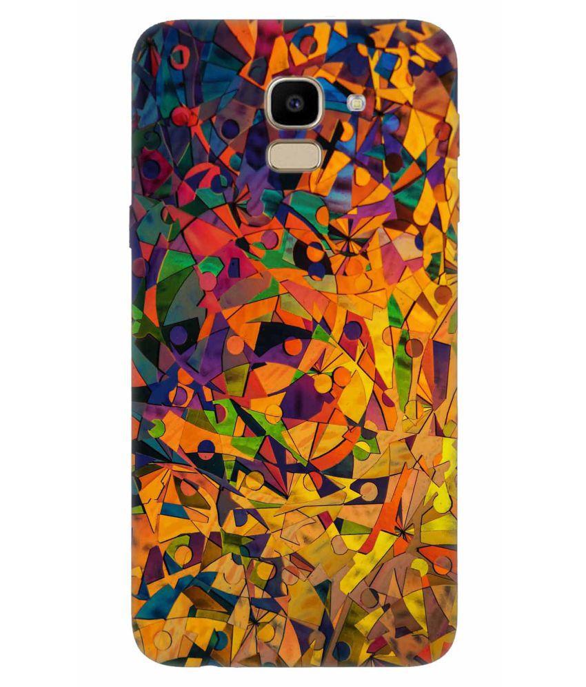 Samsung Galaxy J6 Printed Cover By Crockroz Patterns