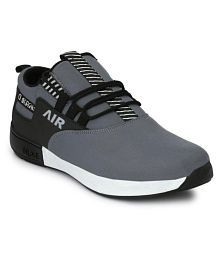 WHITE WAlKERS Sneakers Gray Casual Shoes