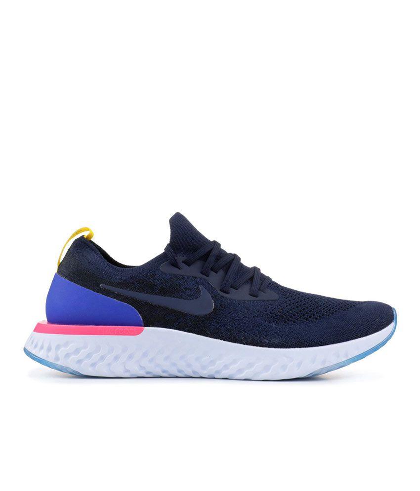 Nike Epic React Flyknit Blue Running