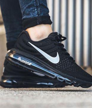 nike black shoes air max