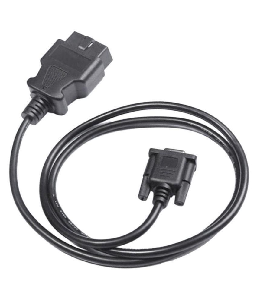 Mapout 2m Data Cables Cable auto diagnostic OBDII cable OBD2 male to on