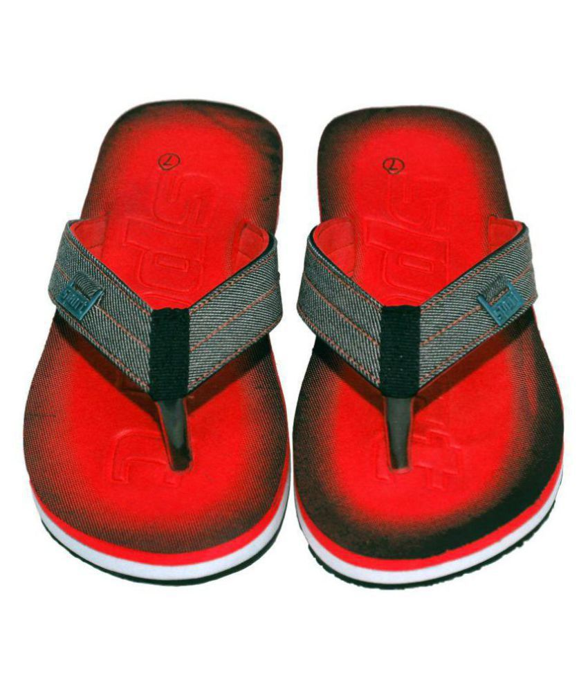 a50c3949da9b79 Polo Flip Flops Red Thong Flip Flop Price in India- Buy Polo Flip ...