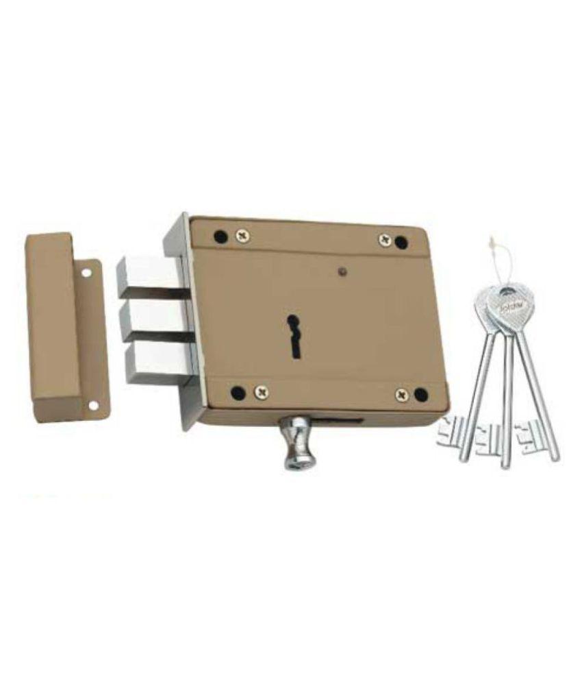 Spider Side Door Lock 8 Lever,   D/A 3 CP Keys (SDL5) 2 Pcs. Pack