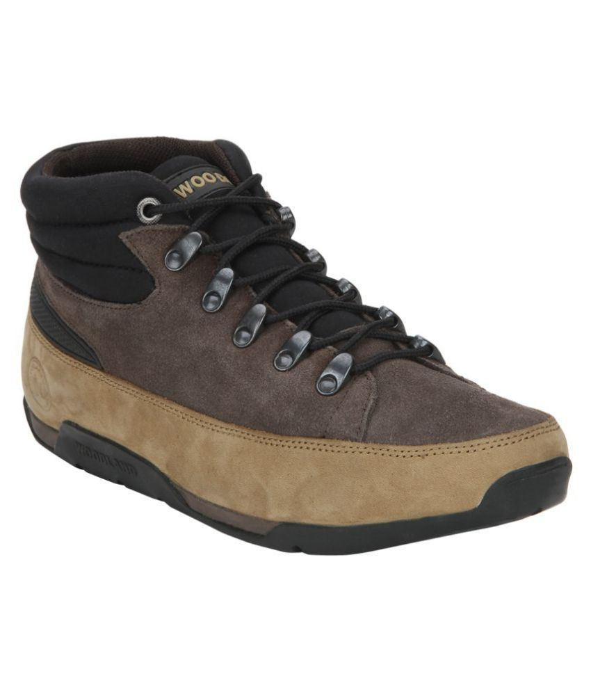 Woodland Camel Casual Boot