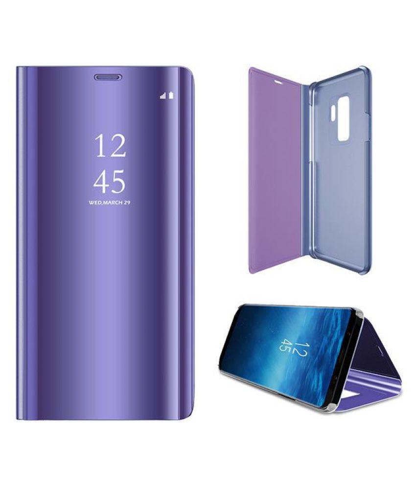 buy popular b2e07 95b42 Samsung Galaxy A8+ Flip Cover by KEP - Blue