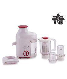 BMS Lifestyle JMG WITH FRUIT FILTER ATTACHMENT 400 Watt Centrifugal Juicer