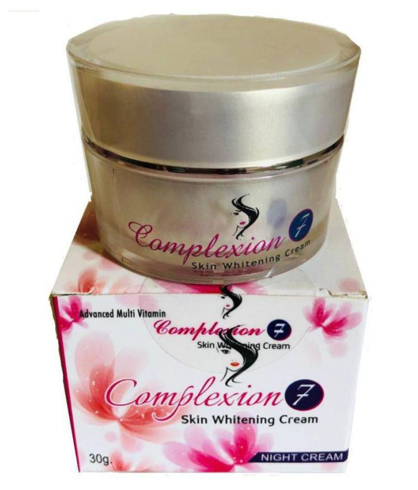 COMPLEXION 7 COMPLEXION 7 SKIN FAIRNESS FACE CREAM ( WHITE )