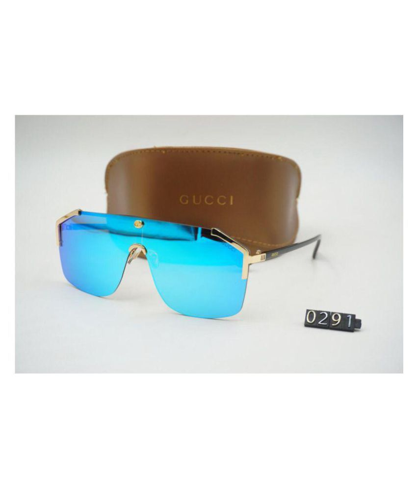 b31685500d2 GUCCI EYEWEAR Blue Aviator Sunglasses ( 3 ) - Buy GUCCI EYEWEAR Blue  Aviator Sunglasses ( 3 ) Online at Low Price - Snapdeal