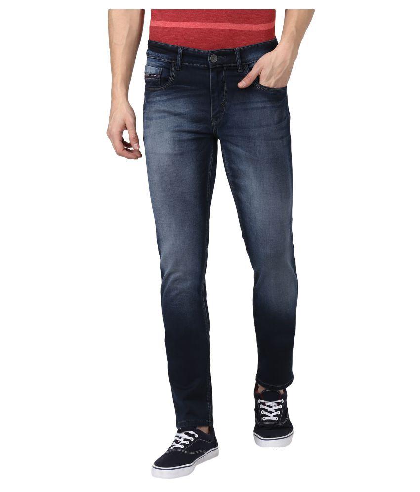 Monte Carlo Blue Slim Jeans