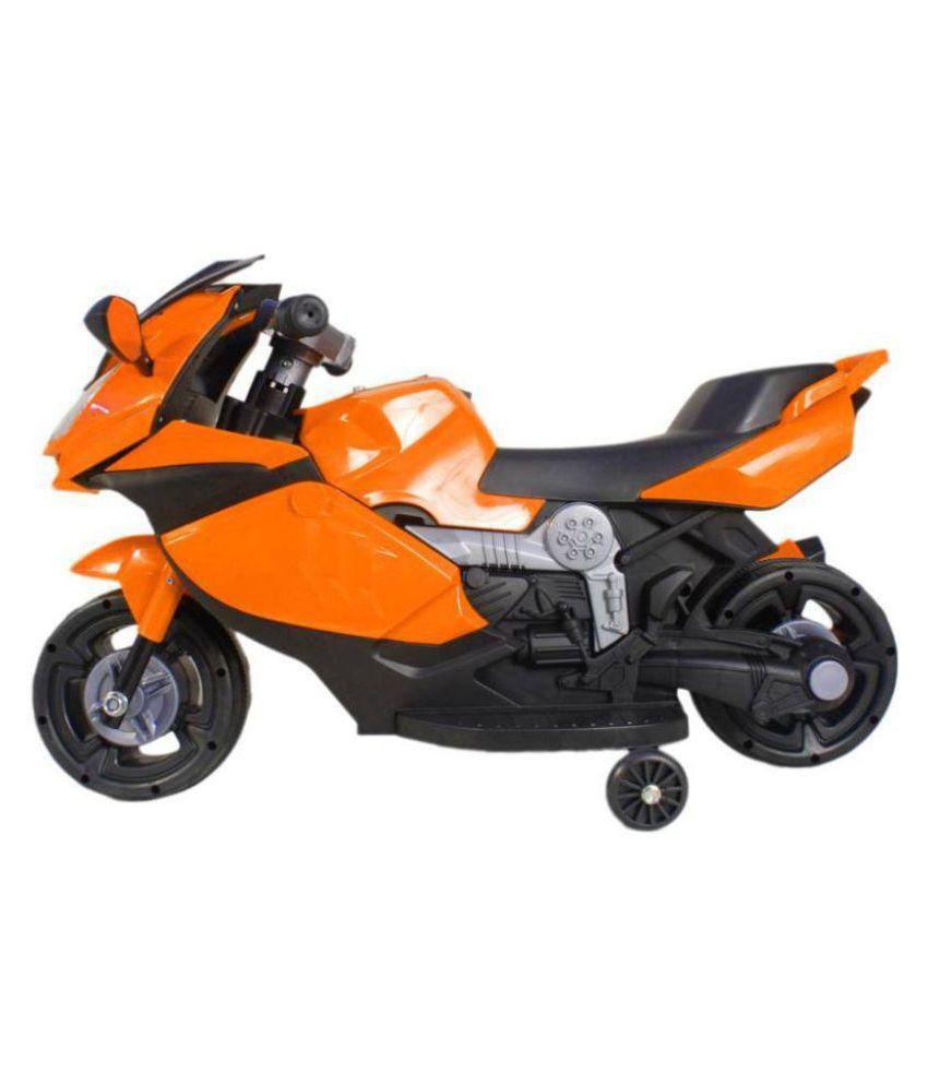 Ayaan Toys Ayaan Toys Lamborghini Orange Kids Bike Battery Operated