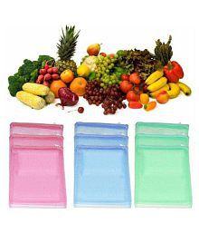 Lonik Multi Lunch Bags - 12 Pcs