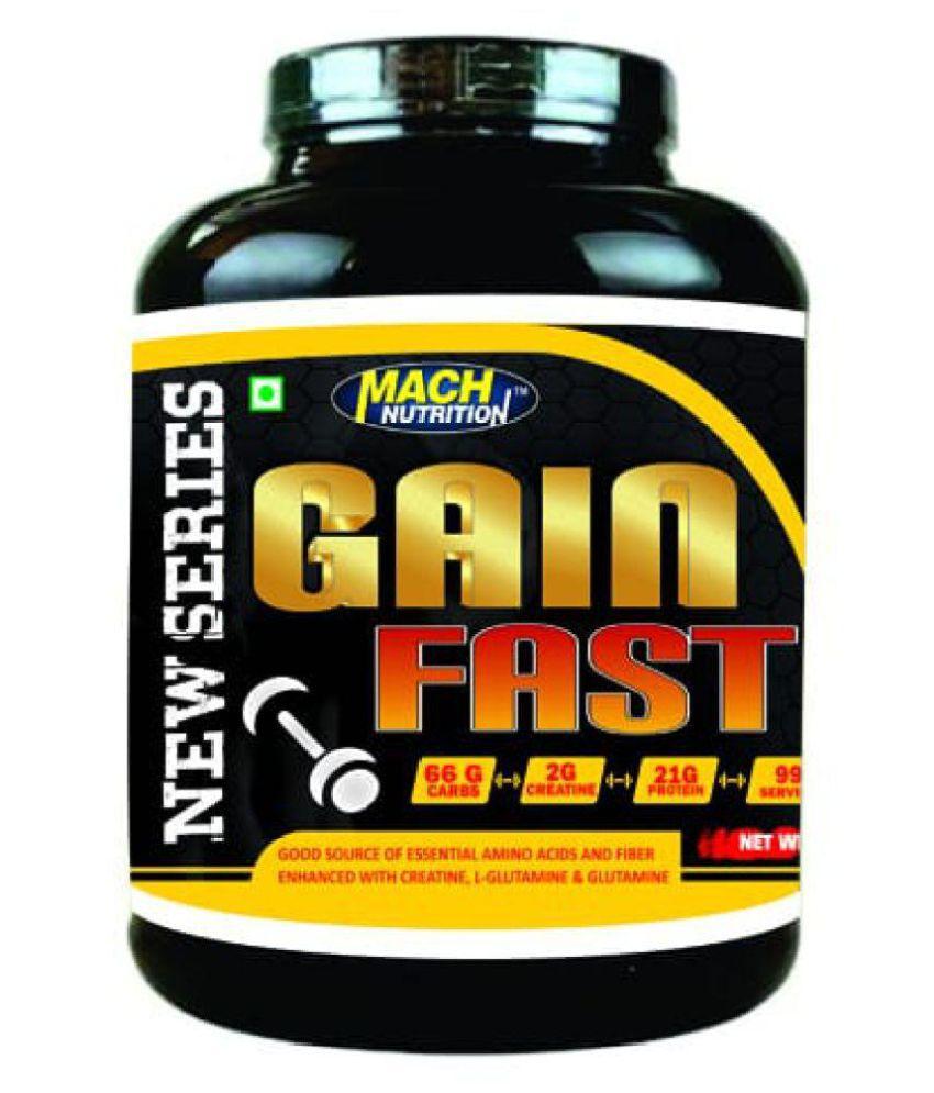 Mach Nutrition Gain Fast 2 kg Weight Gainer Powder