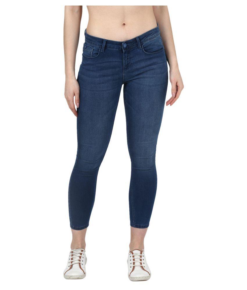 Monte Carlo Cotton Jeans - Blue